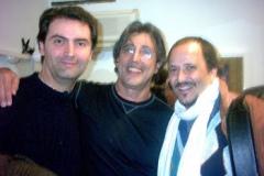 Con Ivan Lins e Nicola Stilo, Teatro Ambra Jovinelli, Roma 2004