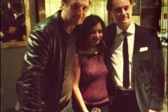 Liam Neeson e Barbara Eramo, Roma 2013
