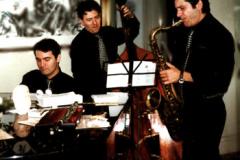 Con Giancarlo Maurino e Bruno Zoia, Hotel Eden - Roma