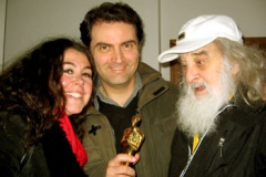Con Tony Scott e Claudia Cotti Zelati