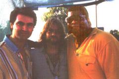 Con Tony Esposito e Karl Potter, Garden Party Soka Gakkai, Roma