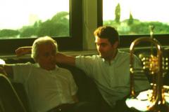 Con Cicci Santucci, Roma 2000