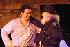 Con Tony Scott a La Palma - Roma 2004