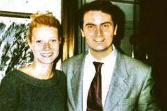 Con Gwyneth Palthrow, Hotel Eden, Roma