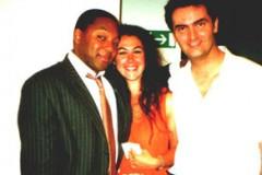Con Wynton Marsalis e Claudia Cotti Zelati, Roma 2000