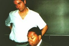Con Wynton Marsalis, Roma 2000